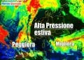 Il cielo sereno e limpido interessa l'Europa centrale e gran parte d'Italia.