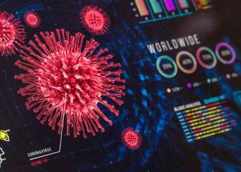 Coronavirus, esempio di grafico, Credits iStockPhoto