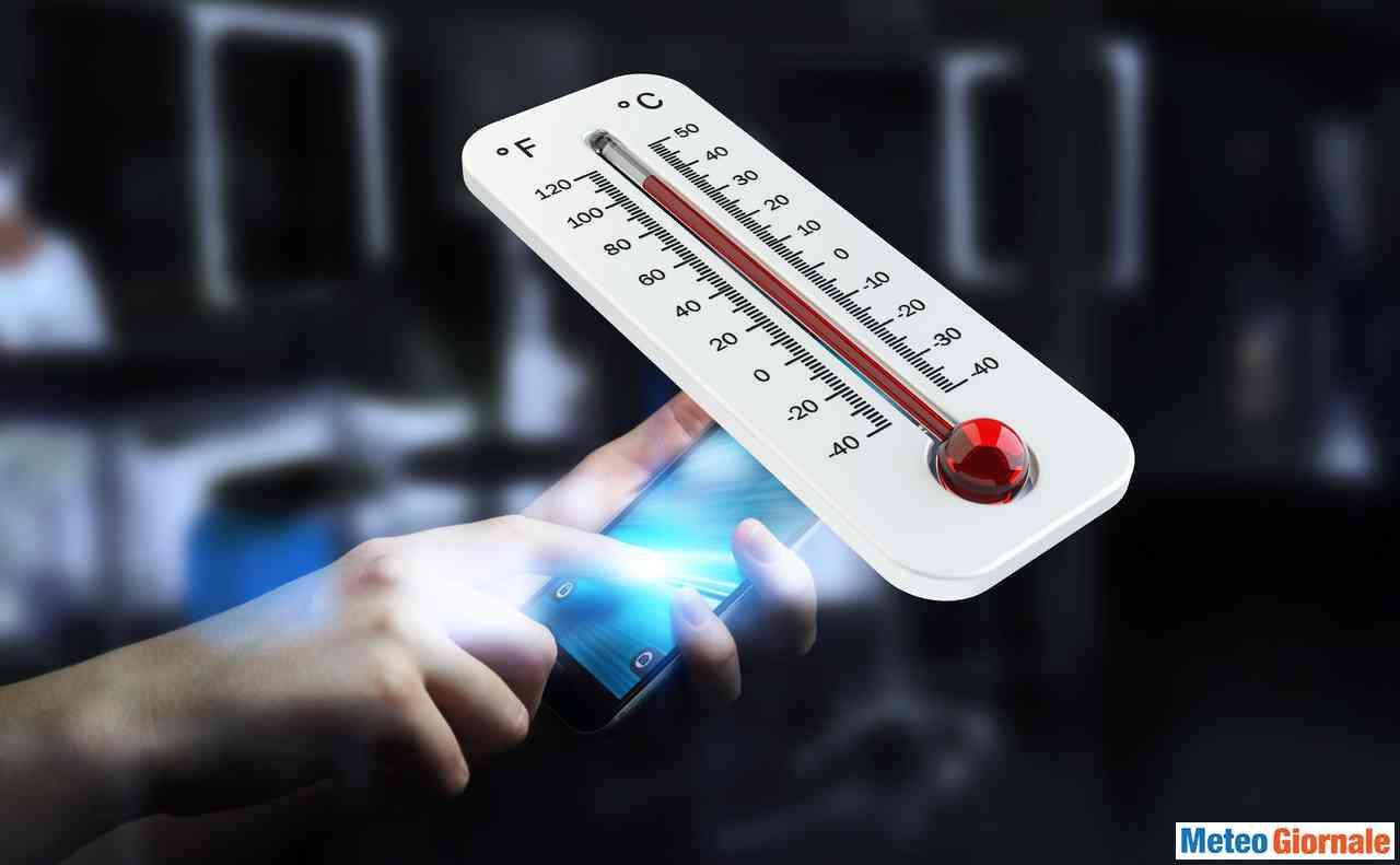 Temperature Italia, ieri già 35°C di massima