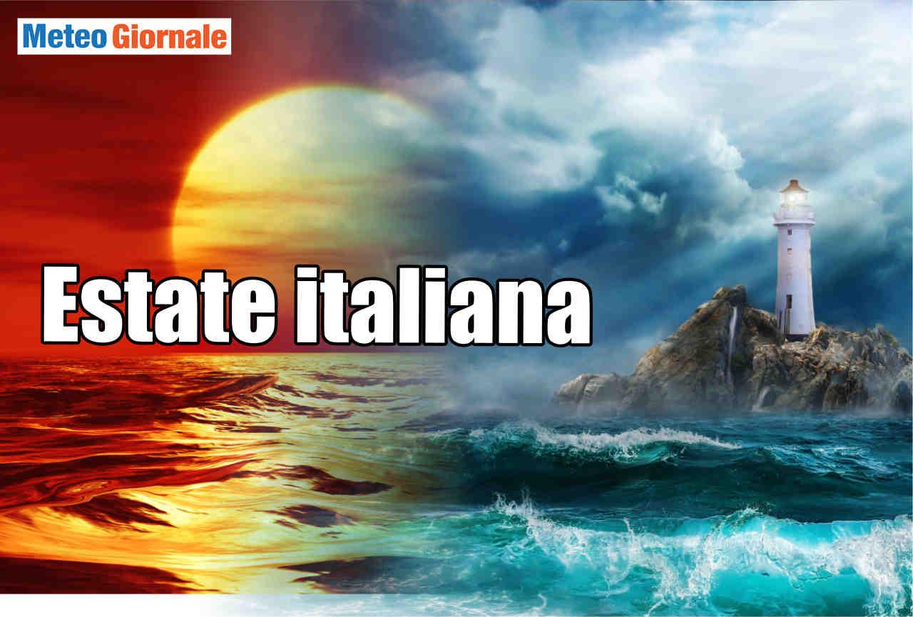 Estate 2020 stravolta, da Centro Meteo europeo e italiano