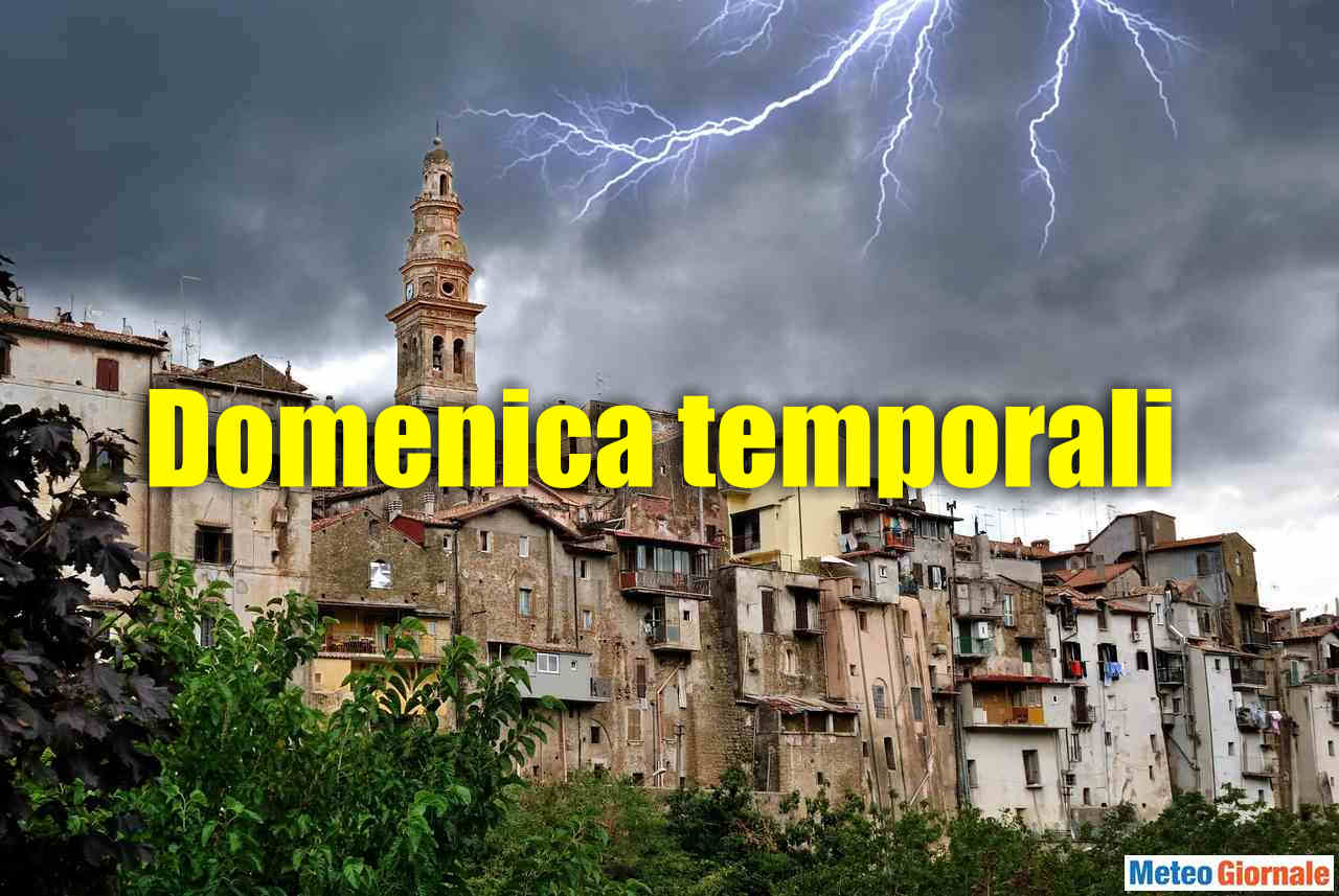 Meteo    domenica di fuoco in tutt'Italia    picchi +40°C in Umbria    allarme al Nord per i temporali-bomba di stasera DATI
