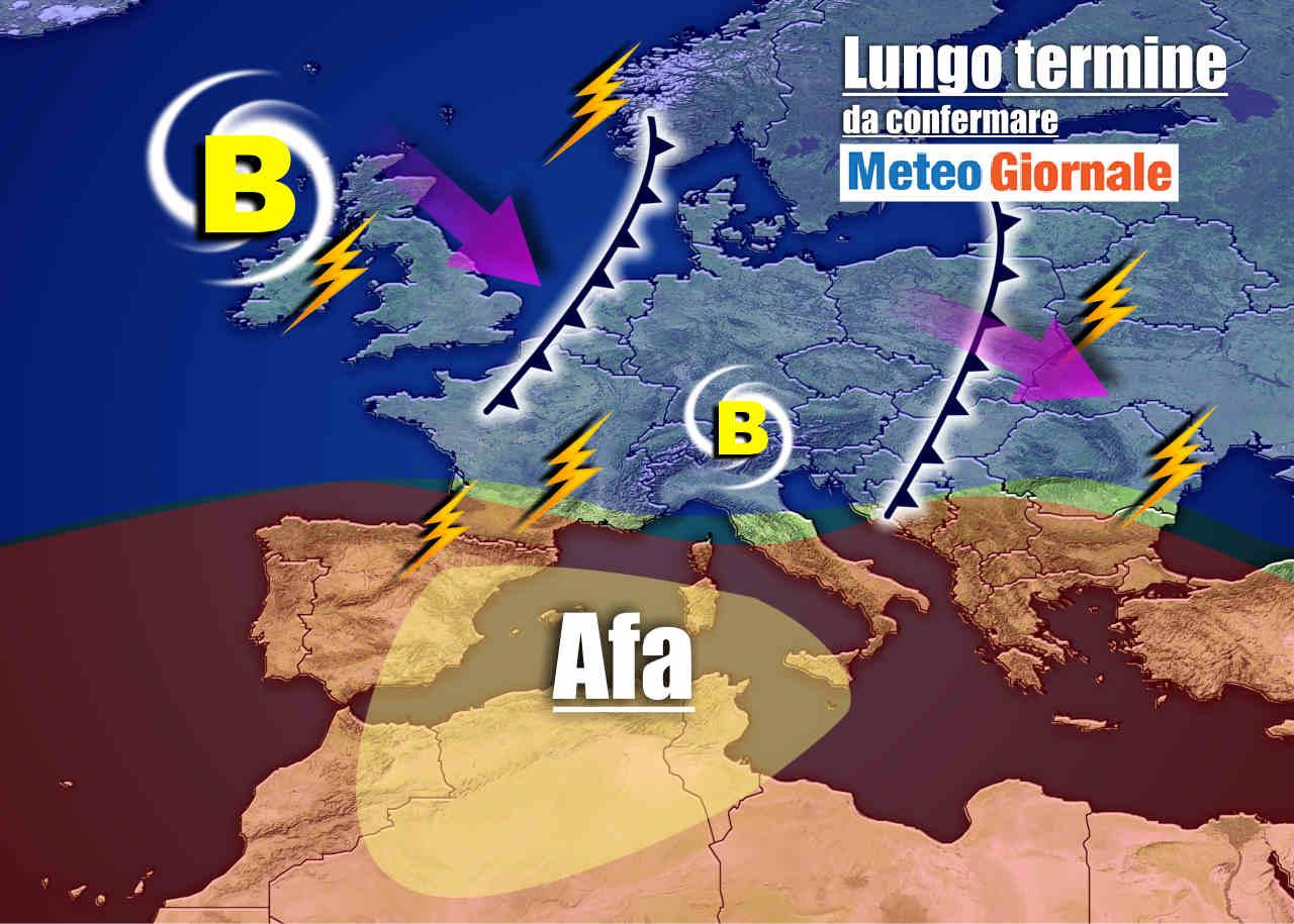 Meteo Italia |  Agosto inizia con un Sabato di fuoco |  picchi di +42°C in Calabria e Sardegna |  +40°C in Toscana e Umbria e +39°C in Pianura Padana