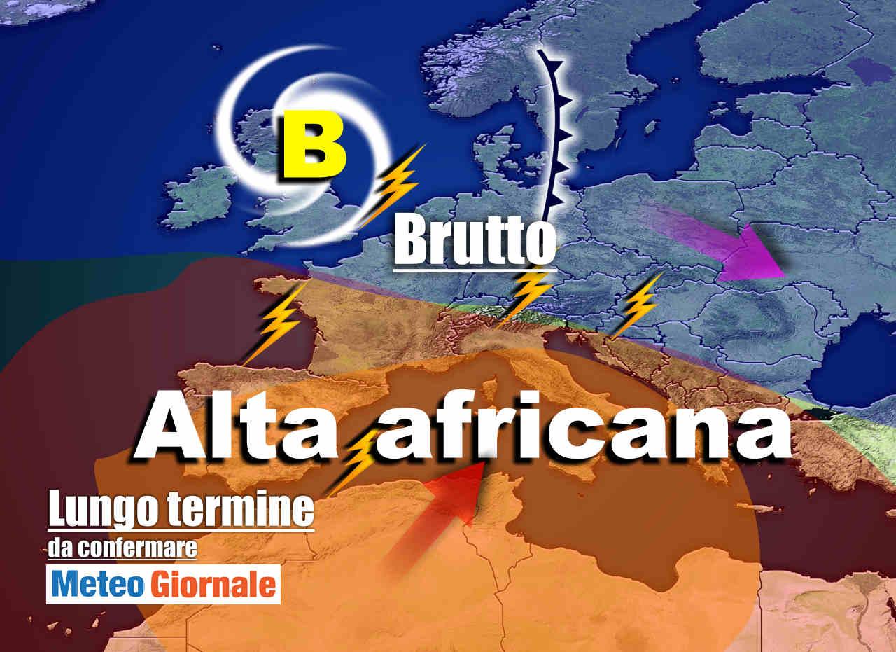 Meteo Italia al 21 Luglio, CANICOLA ricorrente con super Tem