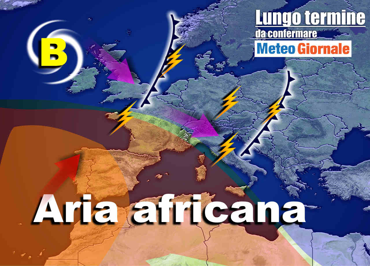 Meteo Italia sino al 24 luglio, TEMPORALI poi ancora AFA d'A