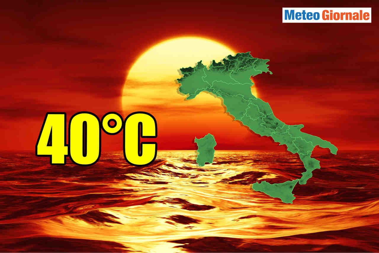 Meteo Italia, andremo verso la peggiore ONDATA DI CALDO d'Es