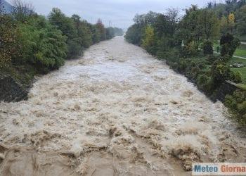 Piogge molto intense potrebbero causare l'ingrossamento di corsi d'acqua. Sarà opportuno seguire gli avvisi degli Enti preposti. Credit foto iStock.