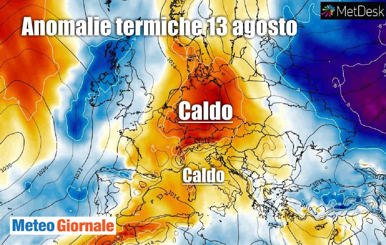 Meteo FERRAGOSTO: farà caldo? Sì, ma quanto