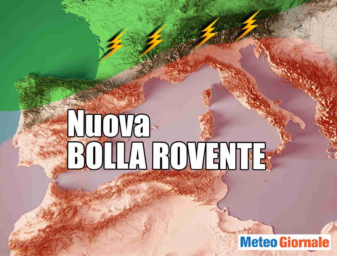 Bolla d'aria ROVENTE dal Sahara rotta ITALIA: previsioni meteo estreme