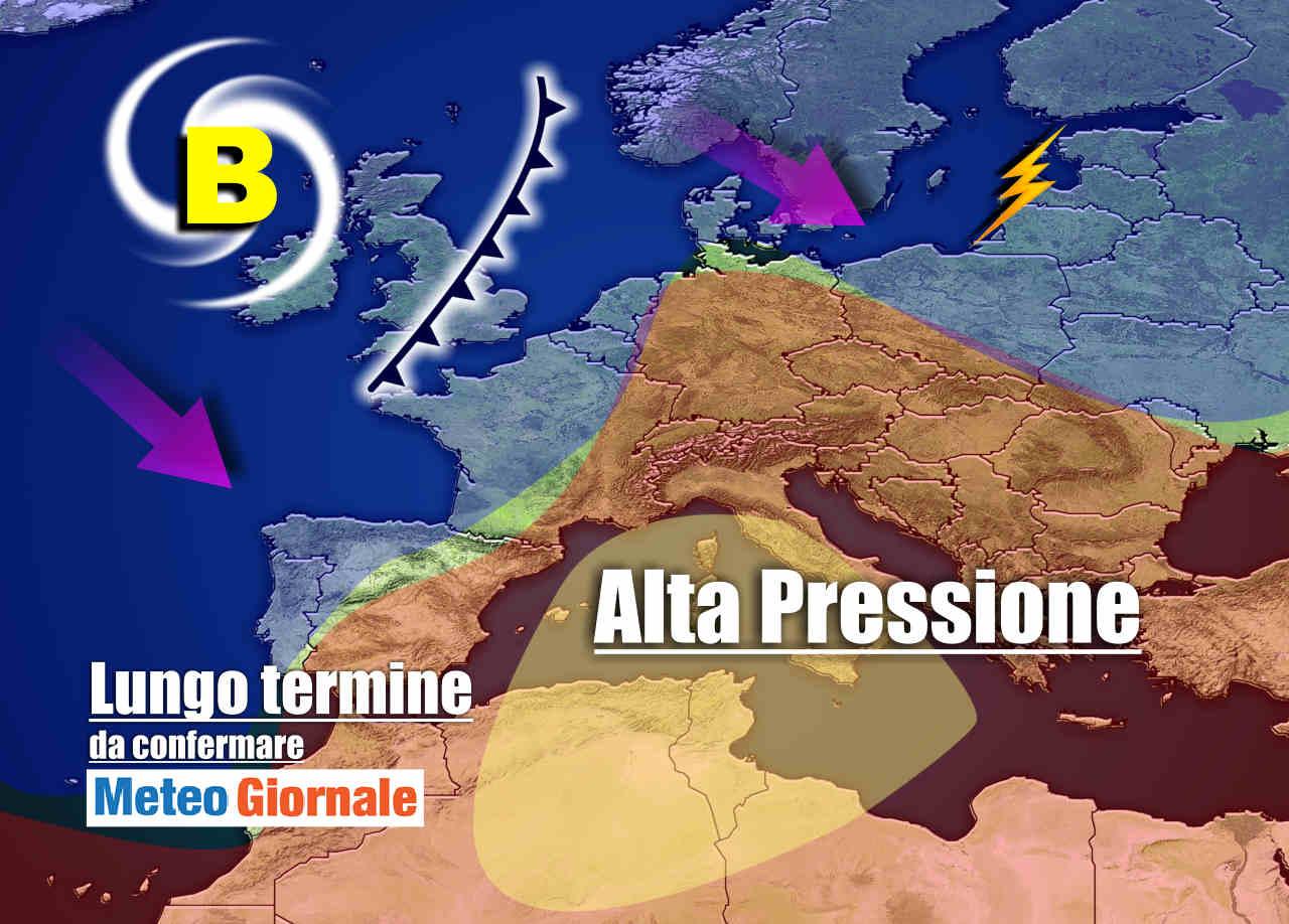Meteo Italia a 15 giorni, importante nuova ondata di CALDO d'Africa