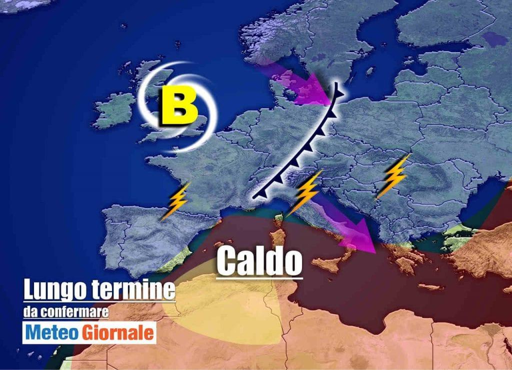Meteo Italia prossime due settimane: il FERRAGOSTO caldo, poi TEMPORALI e…