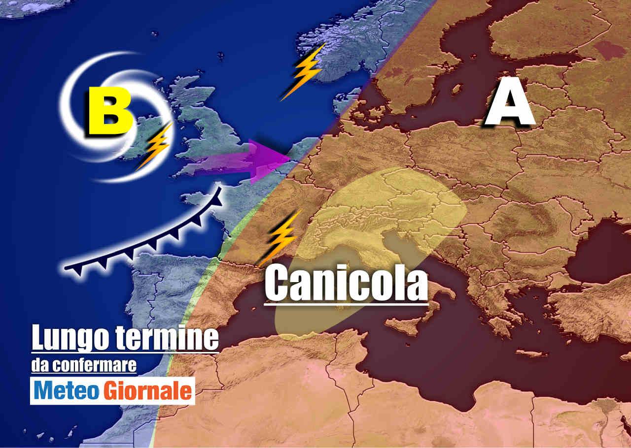 Meteo, Italia divisa tra piogge e anticiclone: cosa succederà a ferragosto
