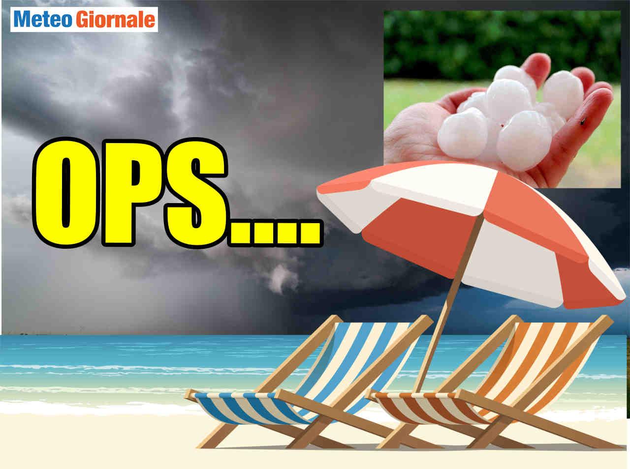 Meteo che peggiora severamente prima delle attese: temporali simil tropicali