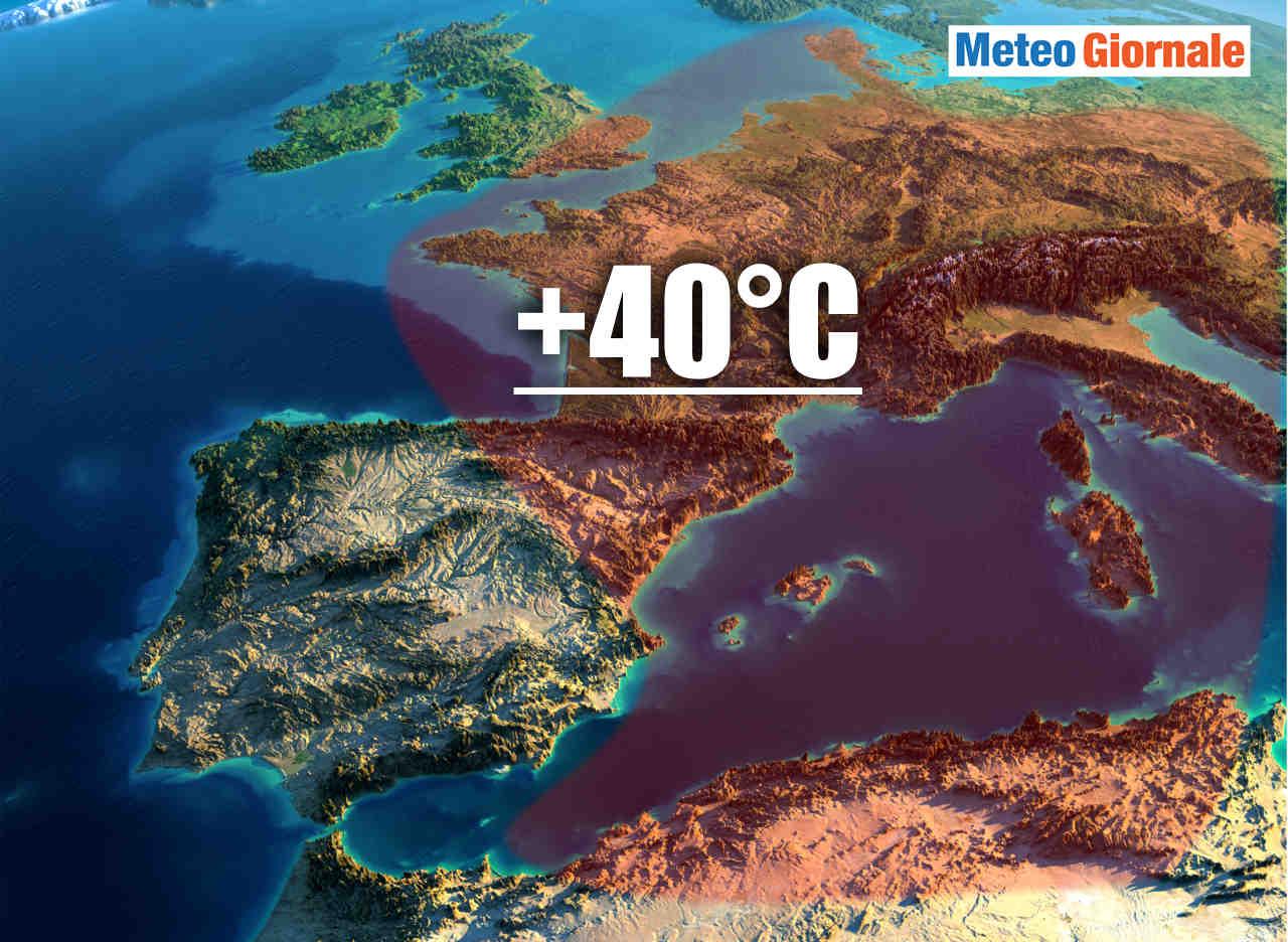 Meteo: ecco l'epicentro del caldo eccezionale