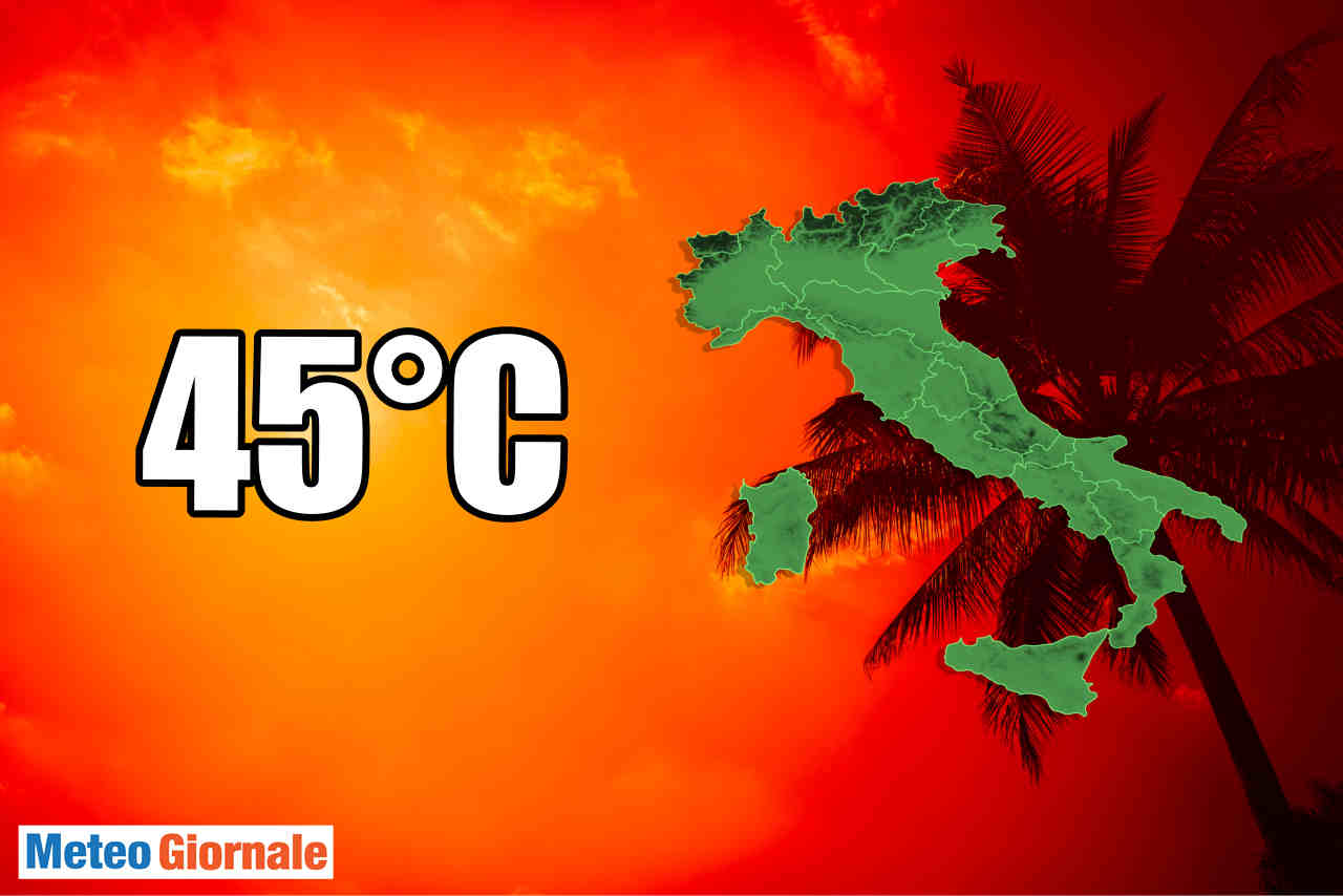 Meteo sino Ferragosto: l'Estate si infiamma di caldo africano