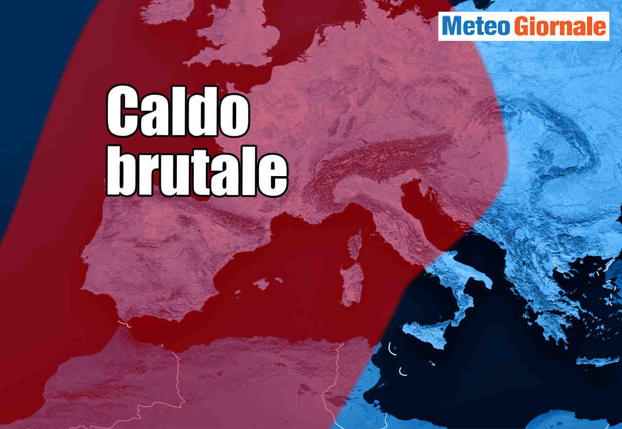 METEO: innesco del caldo brutale verso Europa. Francia già sin 40 gradi