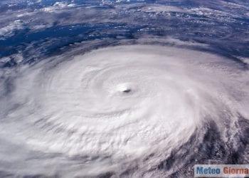 Uragano tropicale. Credit foto AdobeStock.