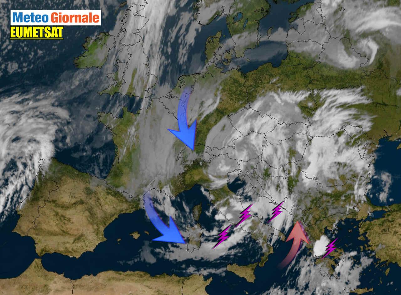 Ciclone sull'Italia, molti danni. TREGUA, poi nuova BUFERA