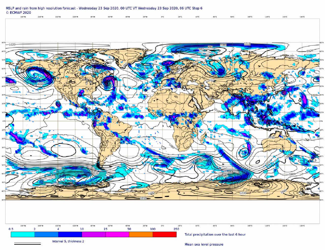 Le migliori mappe di previsioni meteo, le ECMWF, da ottobre saranno gratuite