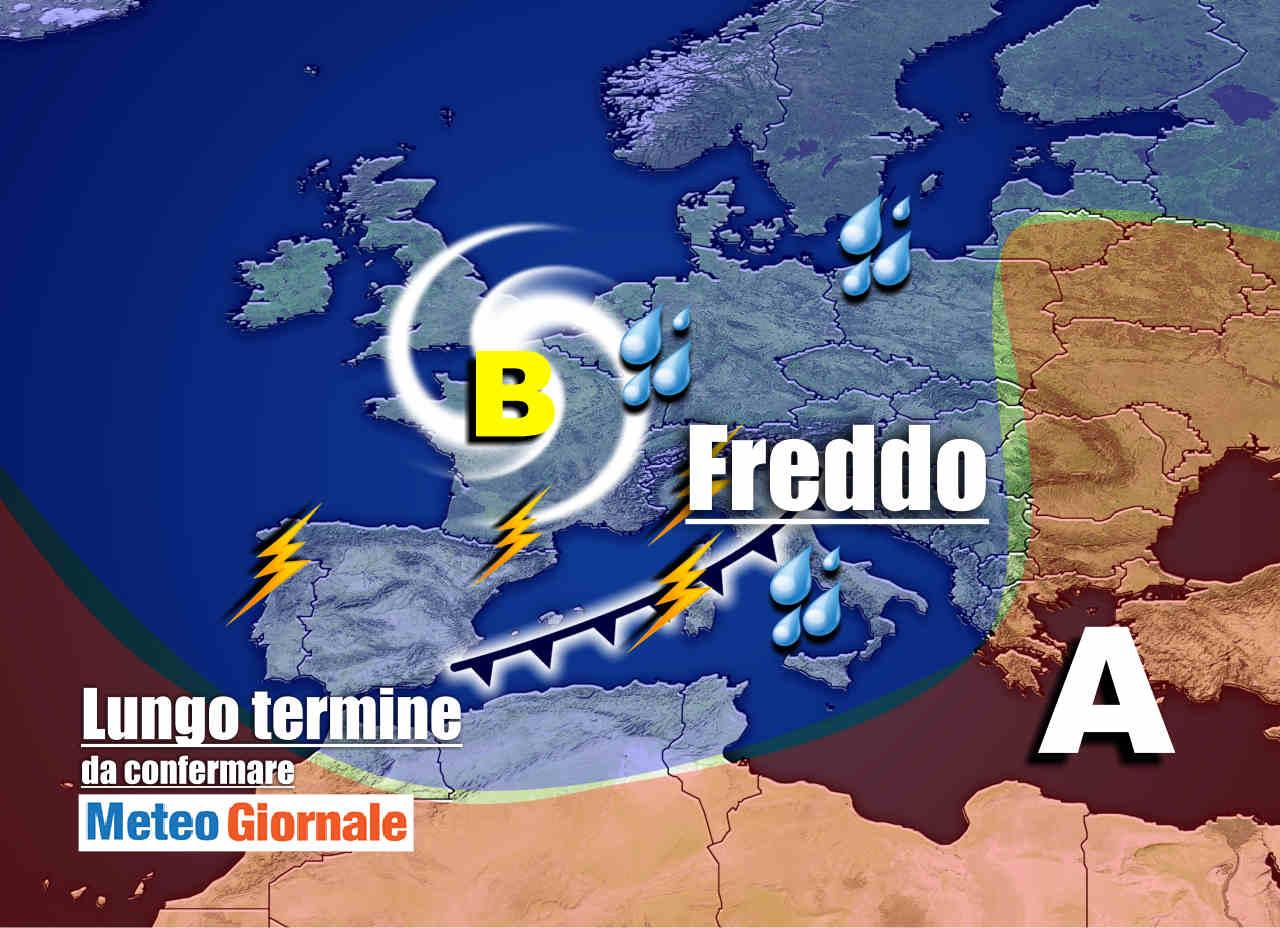 Meteo Italia valido 15 giorni, BOTTI d'Autunno: FREDDO, brutto poi CALDO