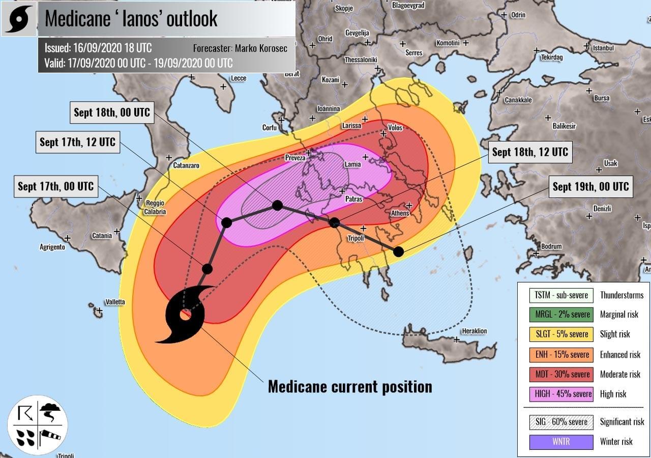 Uragano Mediterraneo Lanos |  ormai ci siamo