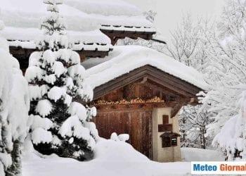 Neve copiosa in alta quota