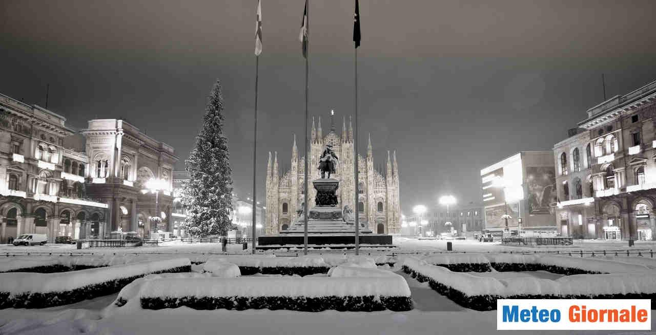 Centro meteo EUROPEO: Inverno in Italia con ottima NEVOSITA'