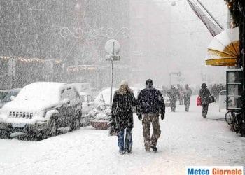 Neve in Valle Padana.