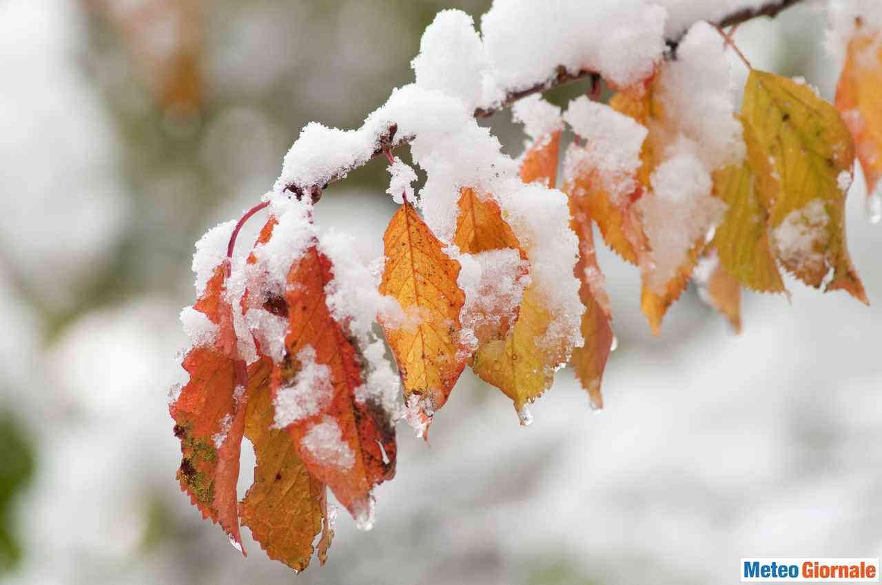 Gelo, neve e maltempo di fine ottobre. Quando l'Inverno gioca in anticipo