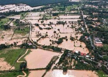 Inondazioni e distruzione in molti paesi del Centro America