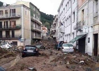 Gli effetti dell'alluvione su Bitti