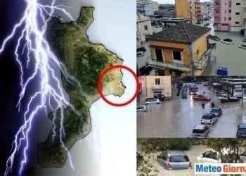 Alluvione lampo a Crotone.
