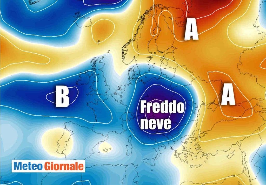 Meteo: neve in arrivo a quote basse, fiocchi bianchi possibili anche tra Milano, Monza e Varese
