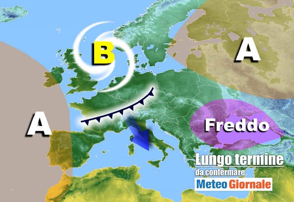 Meteo Italia lungo termine: super partenza dell'INVERNO