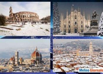 Meteo dicembre freddo con rischio neve. Vari indici di comportamento del clima sono favorevoli.