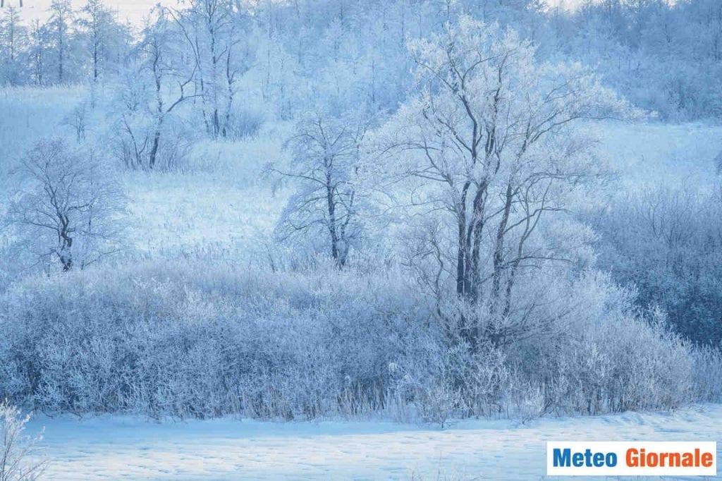Gelo e neve in pianura a fine novembre, non mancano eventi eclatanti