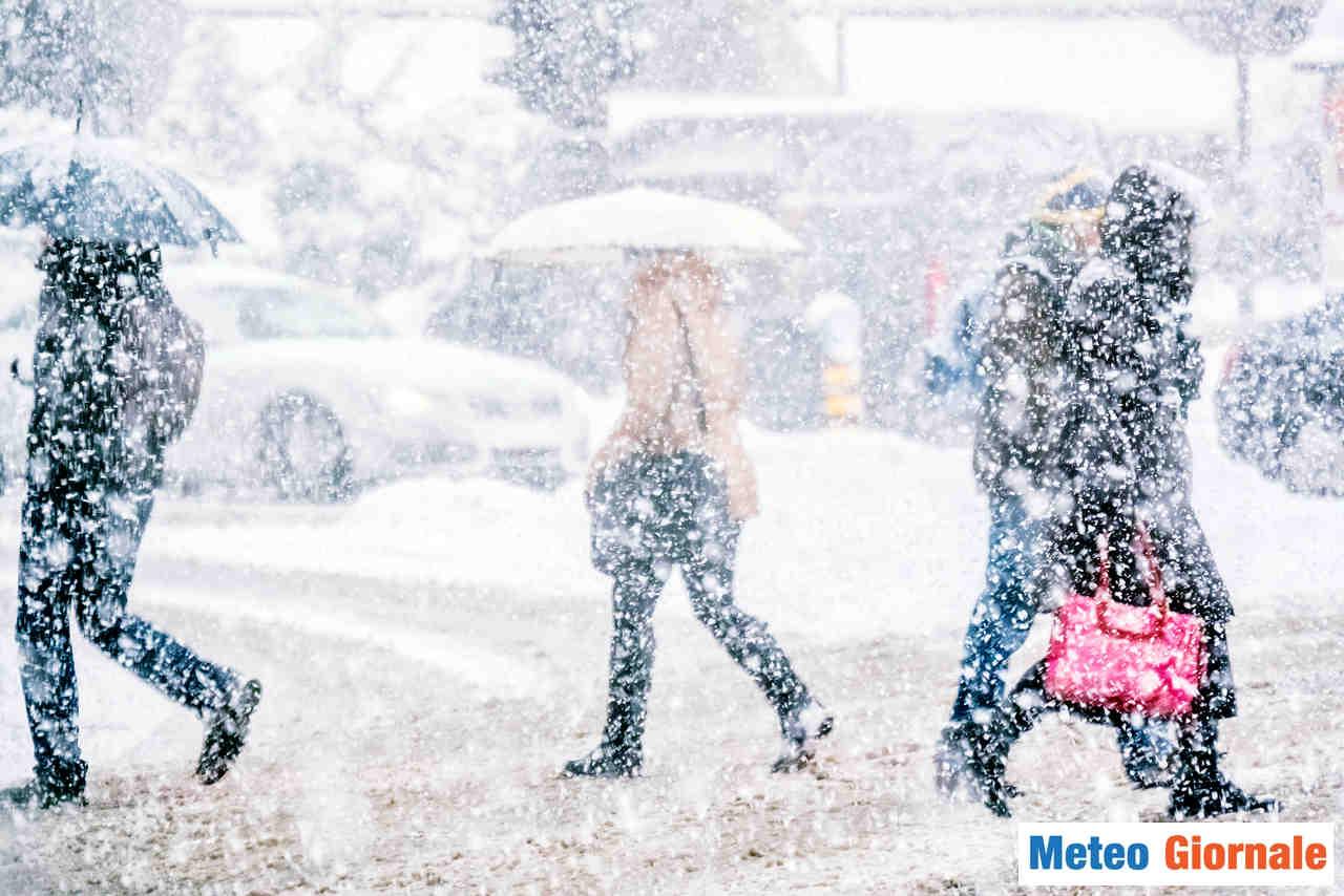 Meteo invernale a cui non siamo preparati.