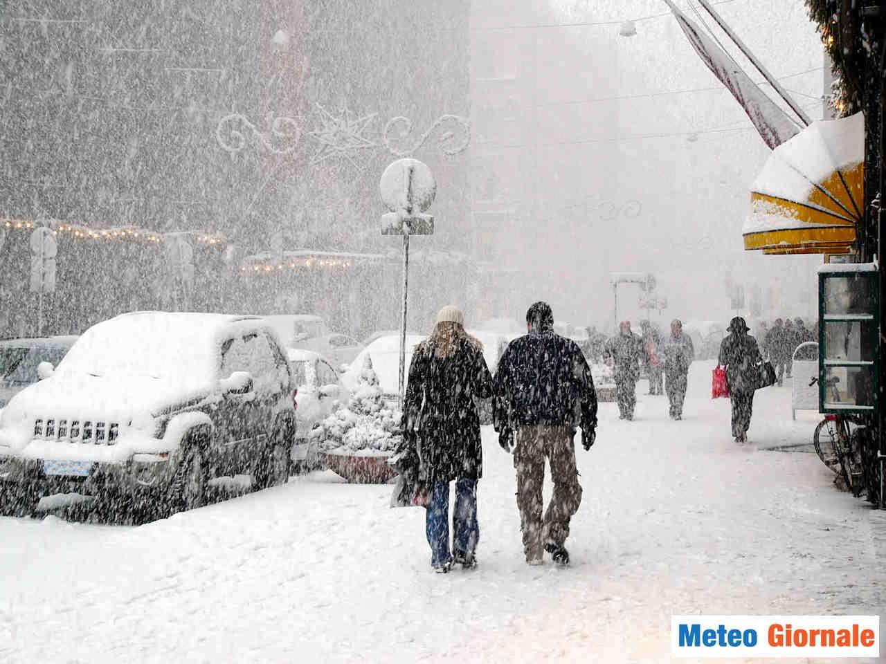 Neve in arrivo a inizio dicembre