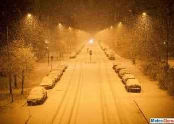 Neve e ghiaccio a Potenza, era il 20/21 novembre 1998