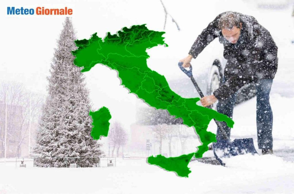 VORTICE POLARE precocissima ROTTURA, rischio Gelo e Neve in Dicembre