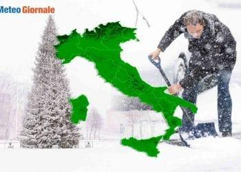Rottura Vortice Polare meteo gelido in Europa.