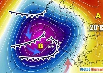 Forte ondata di maltempo sull'Italia. Neve al Nord.