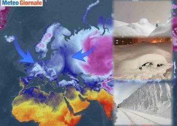 Tempeste di neve in Siberia con possibili ripercussioni meteo in Europa