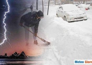 Italia sotto torchio di nubifragi e neve
