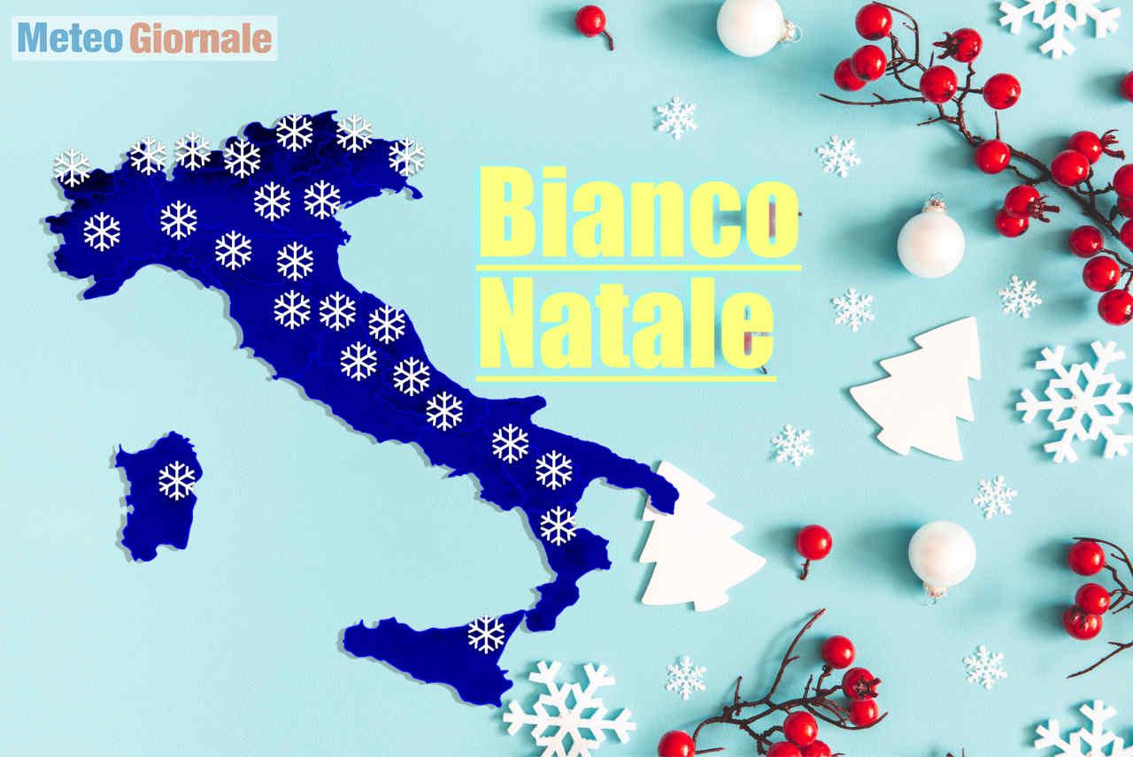 Foto Con La Neve Di Natale.Natale Con La Neve I Centri Meteo Ultimissime Previsioni Meteo Giornale