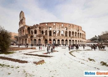 GELO dalla Russia accompagna anche le nevicate sull'Italia peninsulare, sino in pianura.