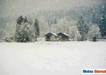 Prime nevicate a quote basse della stagione