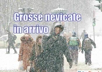 Abbondanti nevicate sono in arrivo in Val Padana