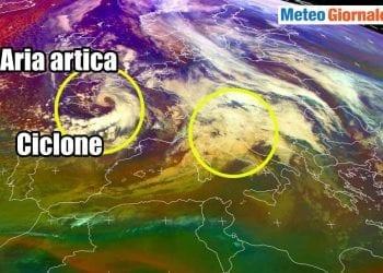 Situazione meteo 28 12 2020.