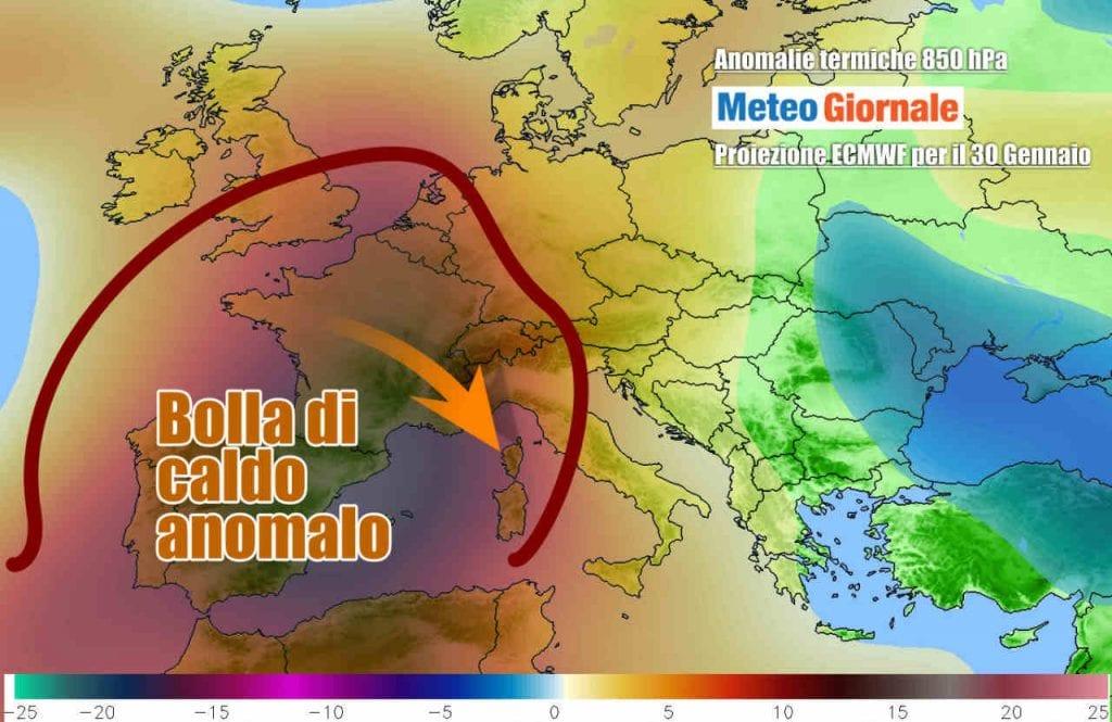 Le follie meteo dell'estate: record europeo del caldo