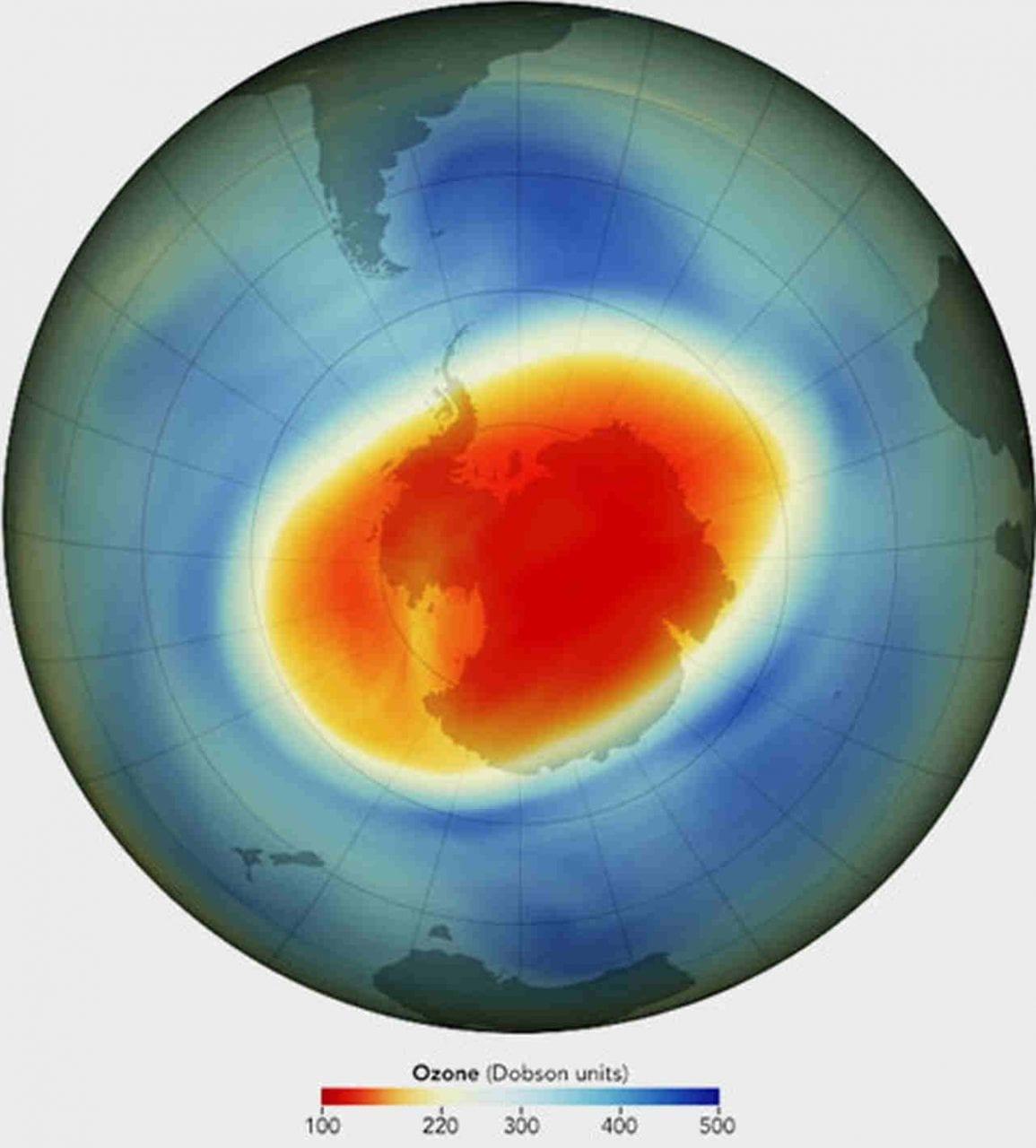 Il buco dell'ozono è stato eccezionale nel 2020, ma ora si è richiuso